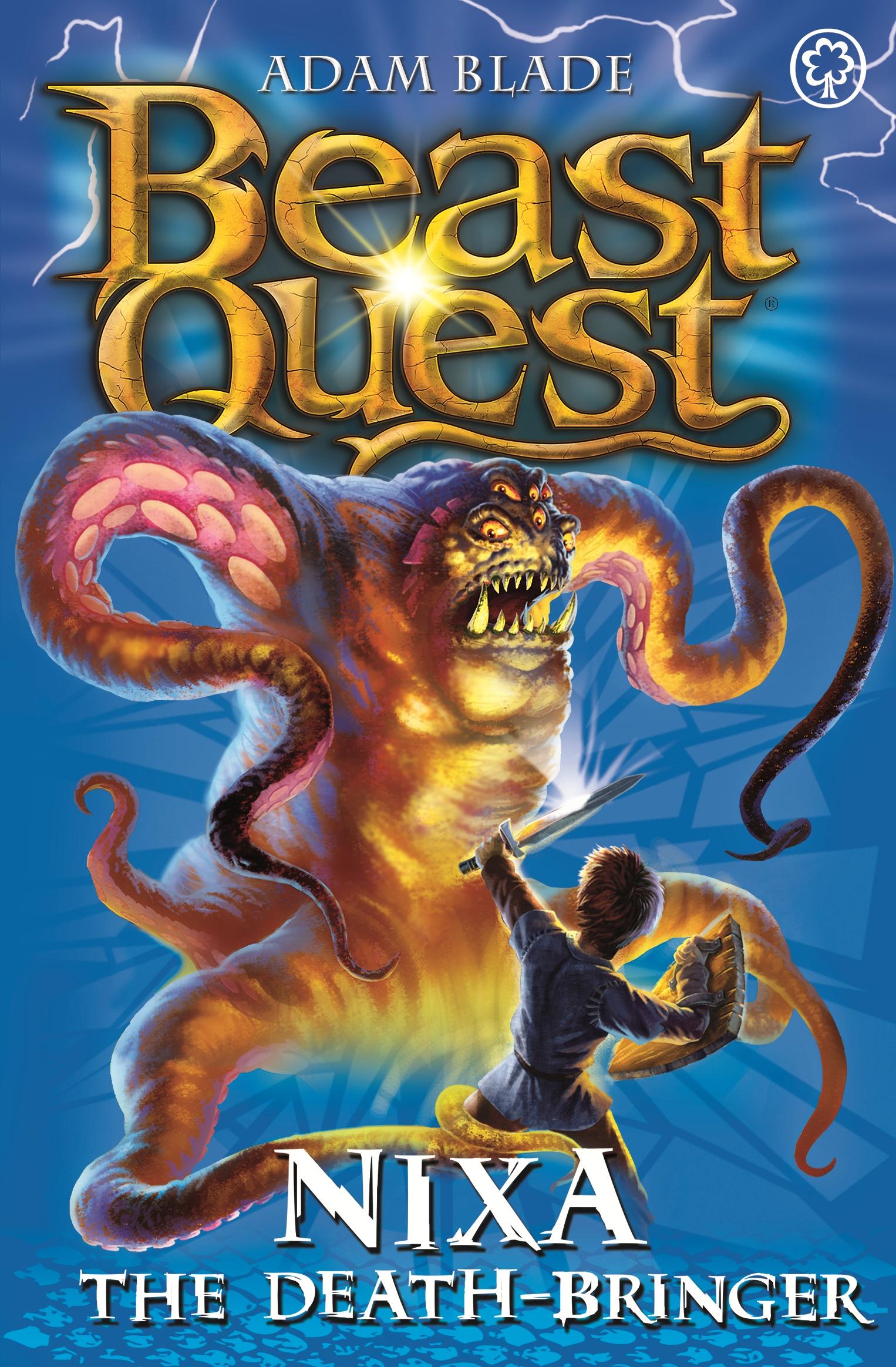 beast quest nixa the deathbringeradam blade